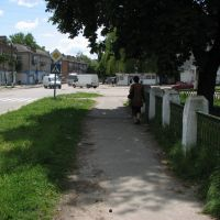 Летний день как тень летел (перекресток Короленко и Марата), Шостка
