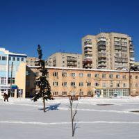 Шостка здание почтамта на площади Ленина, Шостка