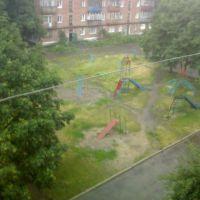 Один из дворов Шостки, Шостка