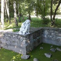 В ботаническом саду.Аленушка, Ямполь