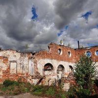Бережани - руїни синагоги, Berezhany - ruins of synagogue, Бережаны