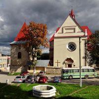 Бережани - Петропавлівський костел, Berezhany - St. Peter and Paul church, 1600-1685, Бережаны