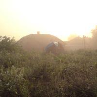 Berezhany , misty late summer sunrise...., Бережаны