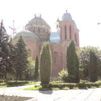 Berezhany , building new church, Бережаны