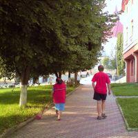 Berezhany , early morning chores ..., Бережаны