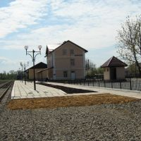 Railway station Borshchiv, Борщев