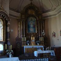 Borszczów - wnętrze kościoła, Борщев