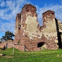 замок у Підзамочку, Pidzamochok - castle, замок в Подзамочке, 1600, Бучач