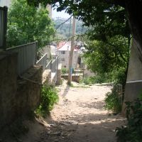 The way to Torgovycha. Buchach, Бучач