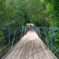 Small bridge across Strypa river, Бучач