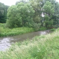 The Strupa river, Бучач