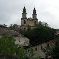 BUCZACZ (Бучач, בוצאץ) Barokowy kościół o.o. Bazylianów, Бучач