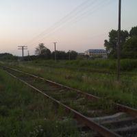 Залізничний переїзд, з бірківської обїздної, будинок, Великие Борки