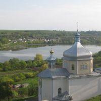 Вишнівецький замок, церква, став, Вишневец
