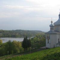 Вишнівець, церква біля замку, Вишневец