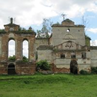Занедбаний костел (forsaken church) 18.06.2010, Вишневец