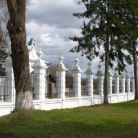 Дворец Вишневецких. Ограда, 1720, Вишневец
