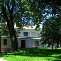 Внешний дворик замка-дворца Вишнивецких., Вишневец