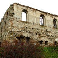 Оборонна синагога XVII ст. с. Гримайлів./ Defensive synagogue XVII, Гримайлов