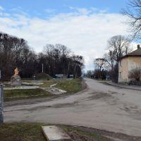 На центральному перехресті доріг у смт.Гримайлів, Гримайлов