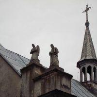 с. Буцики. Церква-костел Собору Пресвятої Богородиці.(1860р.) / Butsyky village. Church. (1860)., Гримайлов