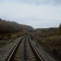 Железнодорожная линия Гусятин - Ярмолинцы. Перегон Ольховцы - Гусятин, Гусятин