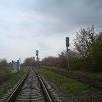 Станция Гусятин. Входные светофоры., Гусятин