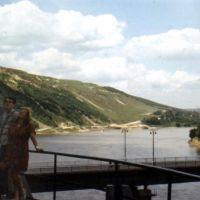 most w Zaleszczykach/Заліщики, міст через річку, Залещики