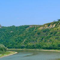 Dnister river, Залещики