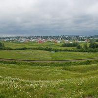 Панорама с. Острів, Заложцы