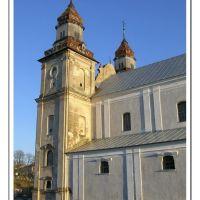 ZBARAZ. Костел бернандинів 1627 року, Збараж