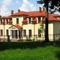 """Збараж. Колишній міщанський будинок п. Явеца, кін. XIX ст., тепер готель """"Гетьман"""", Збараж"""