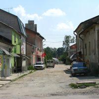 Збараж. Стара вуличка у центрі міста, Збараж