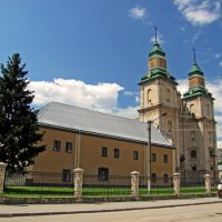 Zbarazh. Bernardine monastery. / Збараж. Монастырь бернардинцев., Збараж