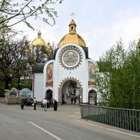 Зарваниця, Marias spiritual centre, gate church of the Annunciation, Золотники