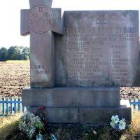 памятник оун упа на месте гибели, Золотники