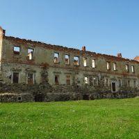 Золотий потік - руїни замкового палацу, Zolotyi Potik - ruins of palace, Золотой Поток - руины дворца, Золотойпоток