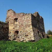 Золотий потік - Західна башта замку, Zolotyi Potik - castle, Золотой Поток - башня замка, Potok Złoty - zamek, Золотойпоток