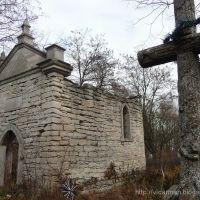 Озерна. Каплиця-гробівець на цвинтарі 1858. || Ozerna. Chapel-tomb at the cemetary 1858., Козлов