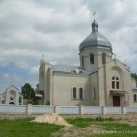 Цебрів. Нова церква з 2007 р. || Tsebriv. New church from 2007, Козлов