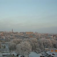 Kozova in snow, Козова
