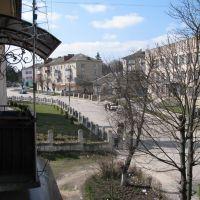 Козова. Вулиця Грушевського/Kozova. Street Grushevskogo, Козова