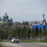 Козова. Католицький собор та православна церква/Kozova. Catholic cathedral and orthodox church, Козова
