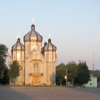 Греко-католицький собор святих апостолів Петра і Павла/Greco-catholic cathedral of the sainted apostles of Petro and Pavlo, Козова