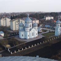 Церква фото з зерносховища., Козова