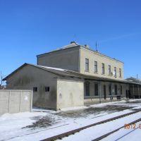 Козівський залізничний вокзал., Козова