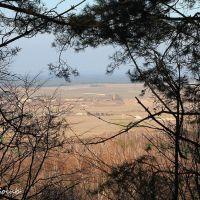 **Kremenets. View of the village Bilokrynytsya**  м.Кременець. Вид на с. Білокриниця, Кременец