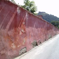KRZEMIENIEC (Кременець, Cremenecia). Mur klasztorny i Góra Królowej Bony., Кременец