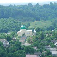 вид з Замкової гори, Кременец