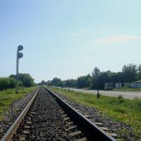 Железнодорожная линия Тернополь - Шепетовка. Перегон Юськовцы - Лановцы, Лановцы